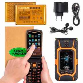 Неубиваемый телефон Land Rover x9 Flip: отзывы, где купить, цена