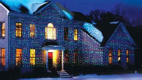 Лазерный проектор для Рождества - отзывы, где купить, новогодний