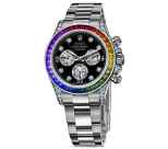 Rolex White Gold Daytona Rainbow
