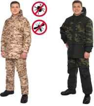 спецодежда для охоты и рыбалки от клещей и комаров