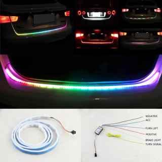 RGB лента на авто Ранлед