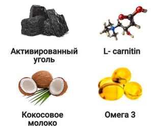 угольный кофе от избыточного веса